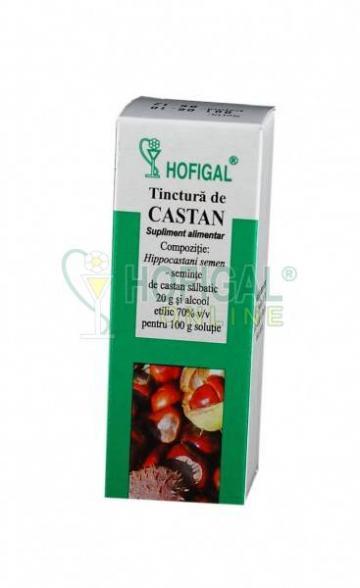 Tinctura de castan - 50 ml